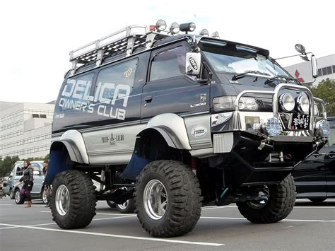Mitsubishi Delica 4k Wallpapers by Look At This Bad Shitty Car Mods
