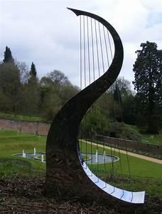 Statue Jardin Design : stainless steel sculpture by sculptor ben dearnley titled 39 song of the wind big stainless ~ Dallasstarsshop.com Idées de Décoration
