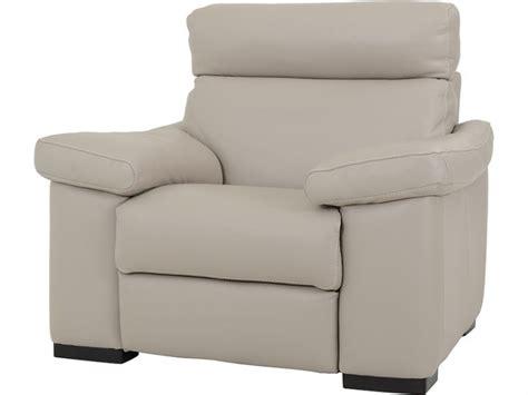 natuzzi editions ascott modern leather recliner chair