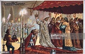 The Crowning of Charlemagne, 800 AD, . Charlemagne , king ...