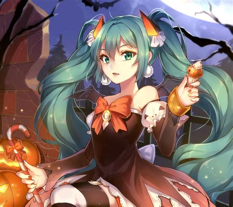 Halloween Anime Wallpapers For Android And Iphone