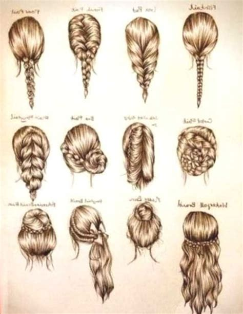 ideas  easy school hairstyles  pinterest