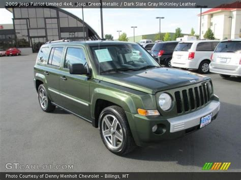 dark green jeep patriot jeep green metallic 2009 jeep patriot limited 4x4 dark