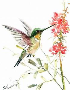 Hummingbird Painting | www.imgkid.com - The Image Kid Has It!