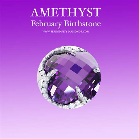 birthstone color for february amethyst the and origin of a february birthstone