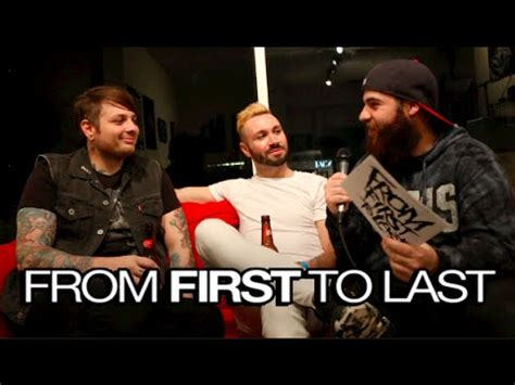 From First To Last Interview  Sonny Moore  Label Album