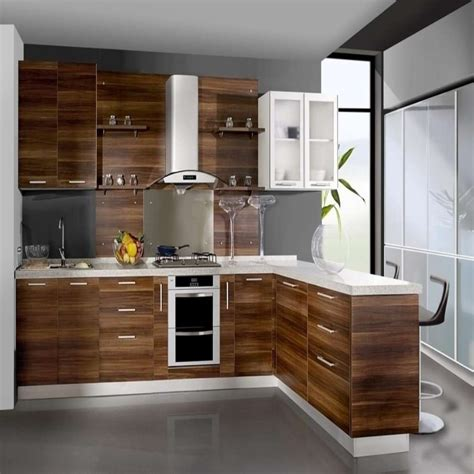 l type kitchen design antique l shaped plywood color american 6747