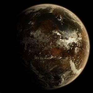 an alien planet - free source by hoevelkamp on DeviantArt