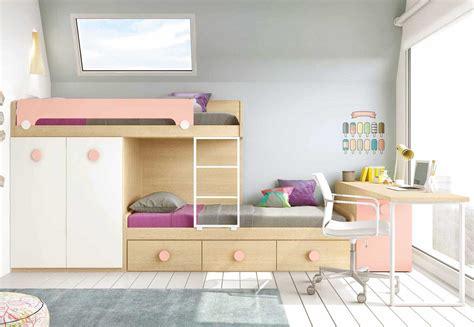 lit superpose bureau lit superpos 233 avec bureau pour la chambre enfant