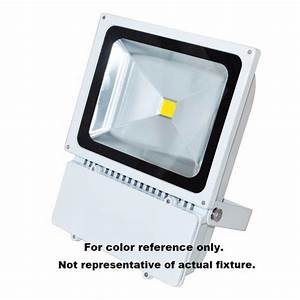 Watt wide angle commercial led flood light w