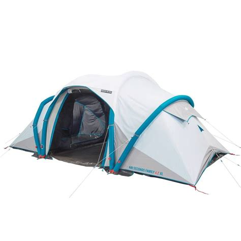tente 4 places 2 chambres seconds family 4 2 xl air seconds family 4 2 xl f b decathlon
