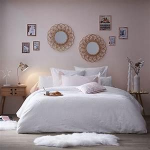 Deco Rose Pale : chambre cocooning vieux rose blanc et gris ~ Teatrodelosmanantiales.com Idées de Décoration