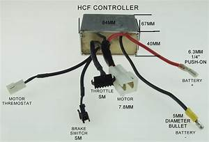 Fried My Hcf Pacelite 707     Electricscooterparts Com Support
