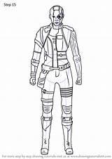 Avengers Endgame Draw Nebula Drawing Step Tutorials sketch template