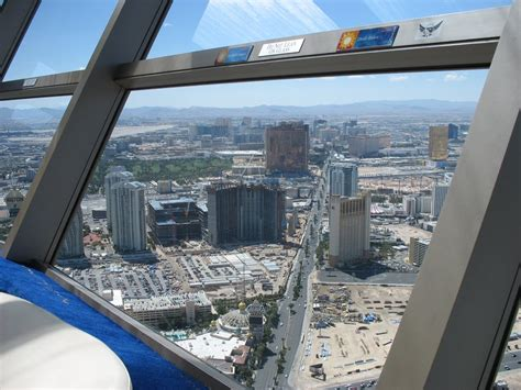 stratosphere tower observation deck panoramio photo of las vegas der vom observation