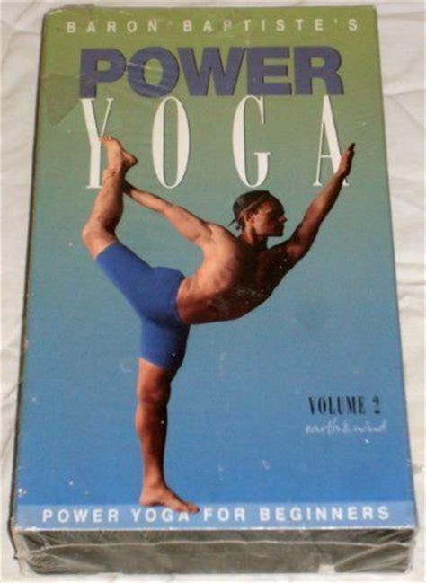Baron Baptiste Power Yoga Level 1 Dvd Images Frompo