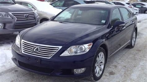 pre owned  lexus ls  lwb awd executive package
