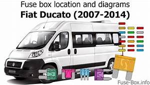 Fuse Box Location And Diagrams  Fiat Ducato  2007-2014