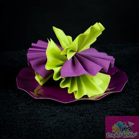 pliage de serviette papier pliage de serviette en papier design bild