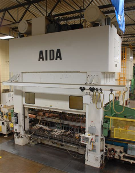 bed with bolster progressive die presses aida pmx straightside mechanical