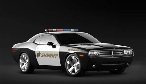 Dodge Challenger Sheriff Car