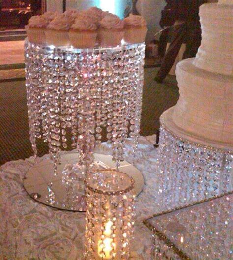 bling wedding cake dessert bling centerpieces and weddings