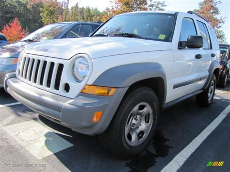jeep liberty white 2005 stone white jeep liberty sport 55874991 gtcarlot