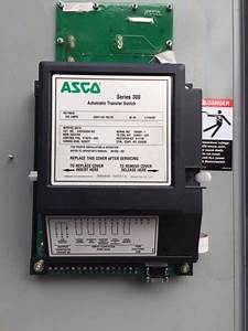 Diagram For Asco Automatic Transfer Switch