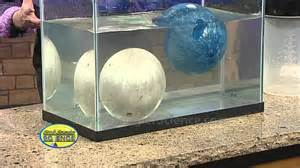 floating bowling balls cool science experiment youtube