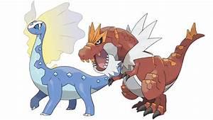 Meet Amaura's and Tyrunt's Evolutions Aurorus and ...