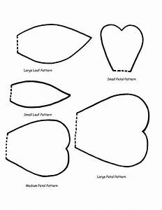 25 best ideas about flower template on pinterest paper for Rose petal templates free