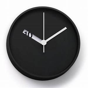 The Extra Normal Wall Clock has an extra clever design ...