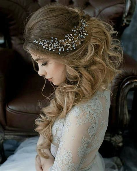 10 Lavish Wedding Hairstyles for Long Hair   Wedding