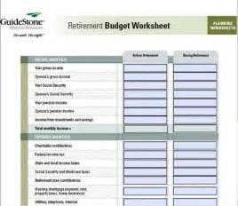 Sle Of Budget Sheet by 7 Free Printable Budget Worksheets
