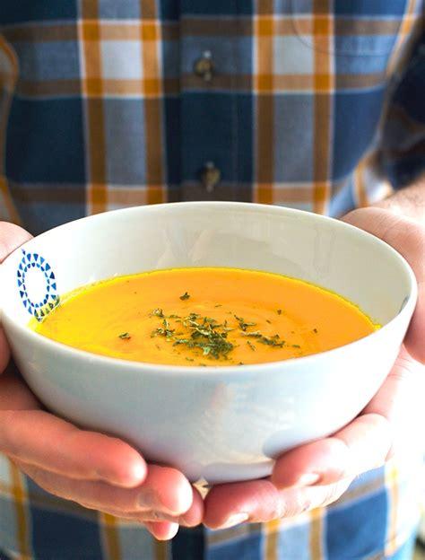 cuisiner la carotte potage citrouille patate douce et carotte alex cuisine