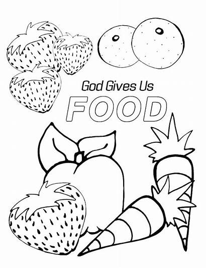 Coloring God Pages Preschool Bible Sunday Gives