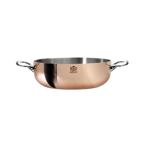 de buyer copper curved saute pan