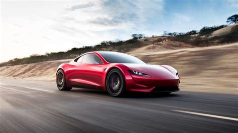 Wallpaper : Tesla Motors, tesla roadster, supercars ...
