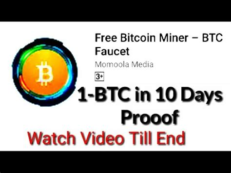 You can earn bitcoin by watching ads or clicking on them. How To Earn BITCOIN   BIT coin App   1-BTC in 10days - YouTube