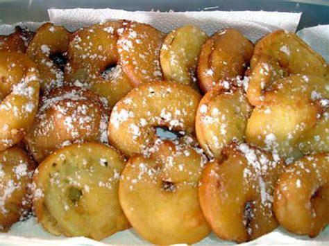 recette de beignet aux pommes par rosinette