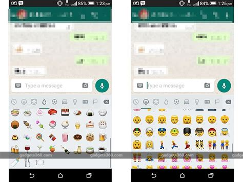 whatsapp for android set to add several new emojis