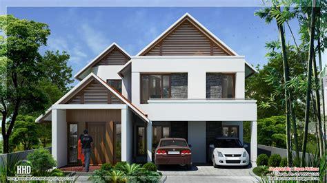 beautiful villa elevations kerala home design floor plans