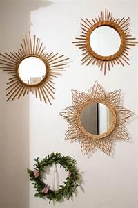 Petit Miroir Rotin : petit miroir soleil id es de d coration int rieure french decor ~ Melissatoandfro.com Idées de Décoration