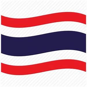 Flag, pattaya, th, thai, thailand, waving flag icon | Icon ...