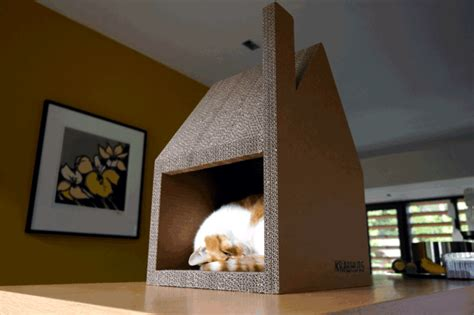 modern cat house chat modern house successfully replaced cardboard cat tree interior design ideas ofdesign