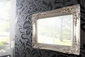 Schablone Wand Barock : barock spiegel mit silberrahmen es lohnt sich ~ Bigdaddyawards.com Haus und Dekorationen