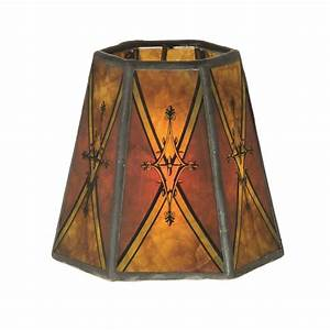 Chandelier Shade Mini Hexagon Mica 00750D BP Lamp Supply