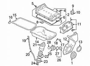 Volkswagen Cabriolet Engine Oil Drain Plug  Liter  Whybrid  Valve