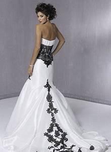 trending tumblr With black white wedding dresses
