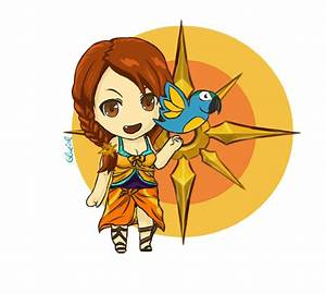 Pool Party Leona Chibi feat. Twitter-Parrot by Glaziol on ...